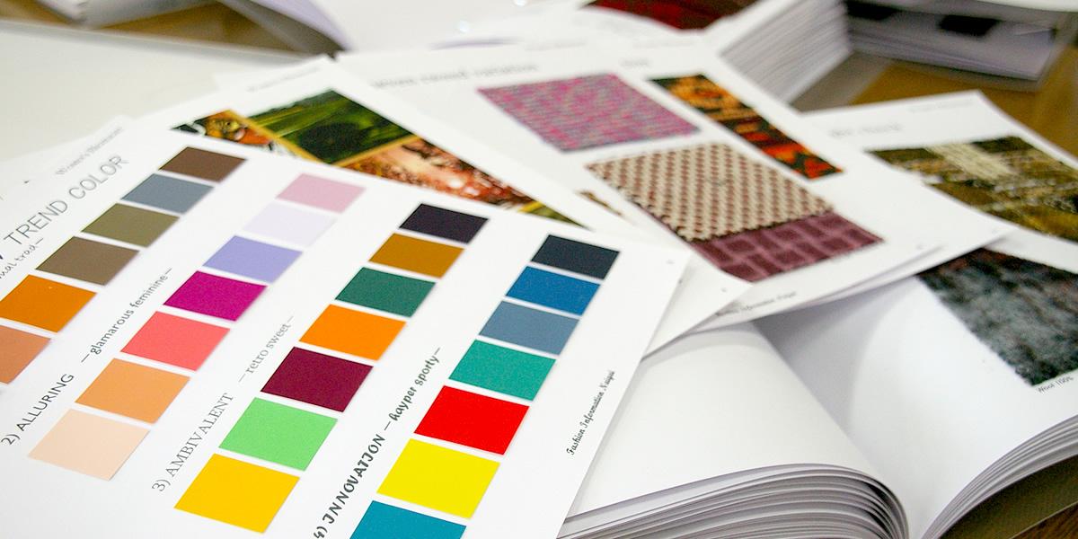 株式会社ナイガイ-ファッションの流れを伝える-トレンドマップ / ファブリックブック